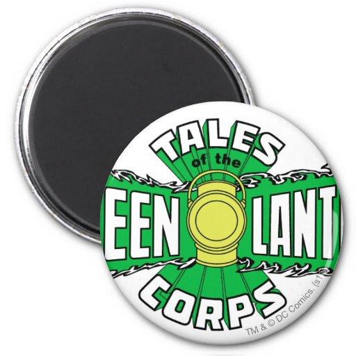 The Green Lantern Corps - Green Logo Refrigerator Magnet