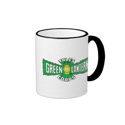 The Green Lantern Corps - Green Logo Mug