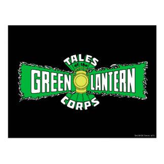 The Green Lantern Corps - Green Logo Postcard