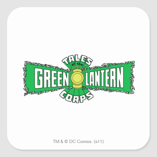 The Green Lantern Corps - Green Logo Sticker