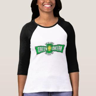 The Green Lantern Corps - Green Logo T Shirts