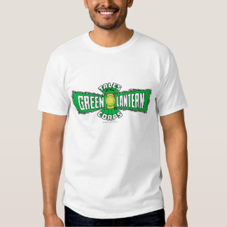 The Green Lantern Corps - Green Logo Tshirts