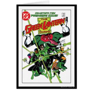 The Green Lantern Corps Greeting Card