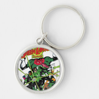 The Green Lantern Corps Keychains