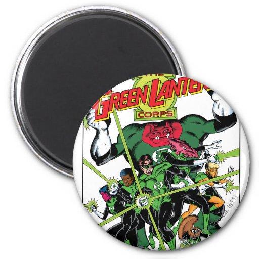 The Green Lantern Corps Fridge Magnet