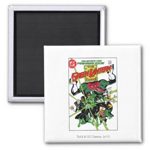 The Green Lantern Corps Refrigerator Magnets