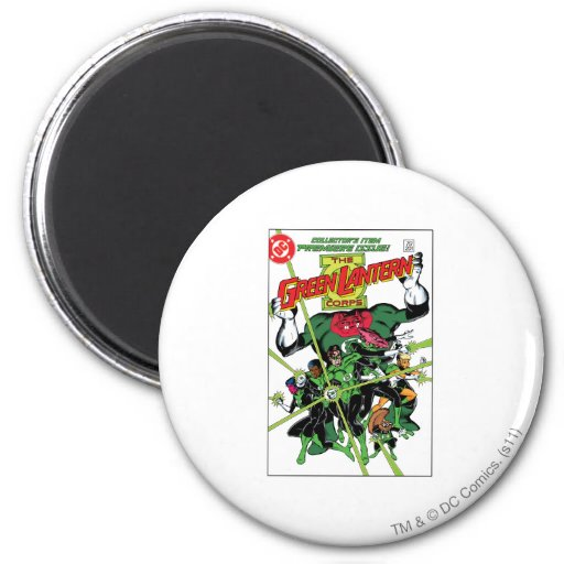 The Green Lantern Corps Magnets