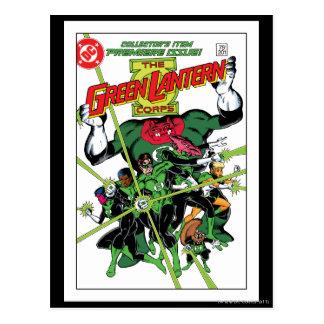 The Green Lantern Corps Postcard