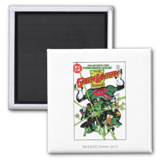 The Green Lantern Corps Square Magnet