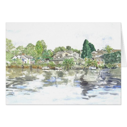 'The Green, Lerryn' Card