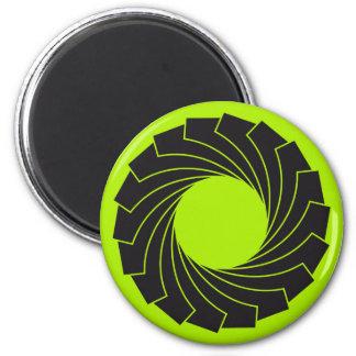 "the Green magnet ""Apperture """