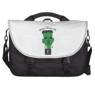 The Green Monster Laptop Bag
