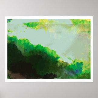 the green mountains print