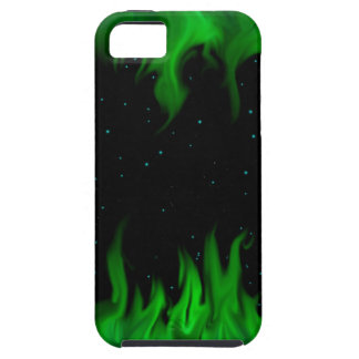 The Green of flames RK the starlit sky iPhone 5 Cover