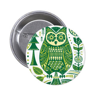 The Green Owl Pins