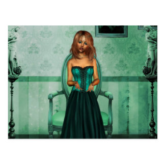 The Green Room Postcard