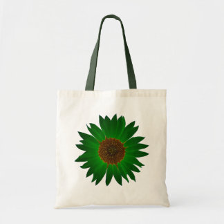 The Green Sunflower Tote Bag