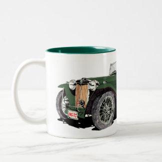 The Green TC Two-Tone Coffee Mug
