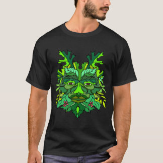 The Greenman (Dark) T-Shirt
