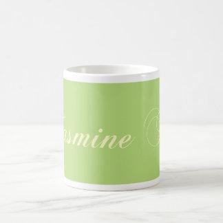 the Greens tea green tea jasmines tea Coffee Mugs