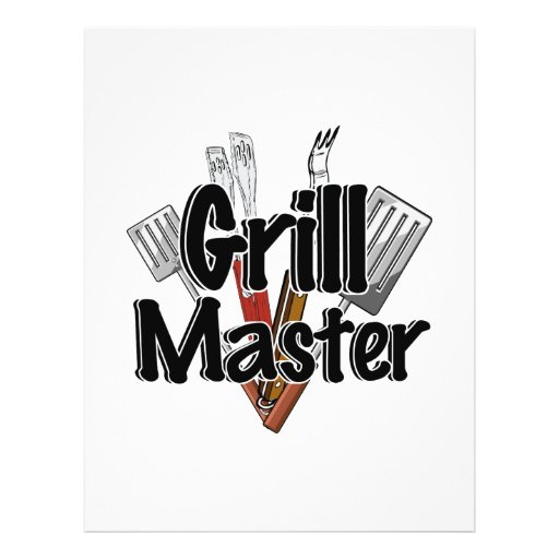 The Grill Master with BBQ Tools Flyers