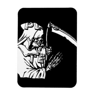 The Grim Reaper or Death Rectangular Photo Magnet