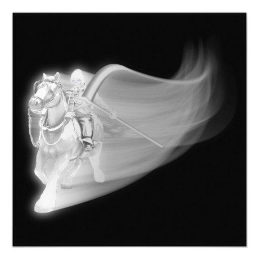 The Grim Reaper Rides Again Personalized Announcement