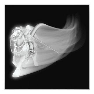 The Grim Reaper Rides Again 13 Cm X 13 Cm Square Invitation Card