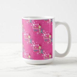 The Grinch | Cindy-Lou Who Pink Holiday Pattern Coffee Mug