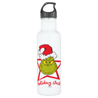 The Grinch   Holiday Stash 710 Ml Water Bottle