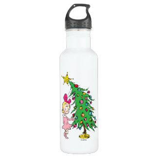 The Grinch   I've Been Cindy-Lou Who Good 710 Ml Water Bottle