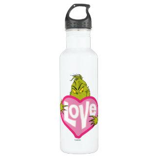 The Grinch   Love 710 Ml Water Bottle