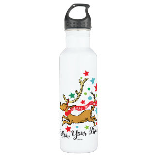 The Grinch   Max - Follow Your Dreams 710 Ml Water Bottle