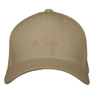 The Groom Embroidered Hat