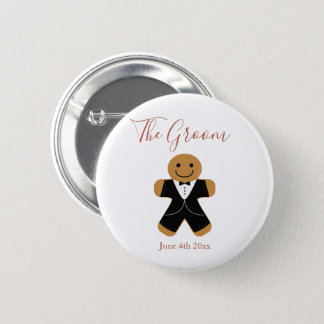 The Groom Gingerbread | Button