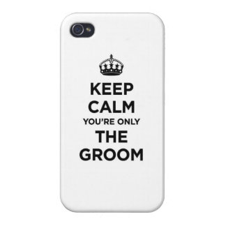 The groom iPhone 4 cover