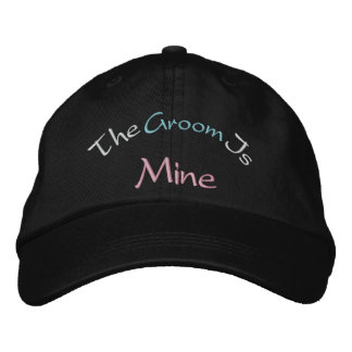 The Groom Is Mine Baseball Cap