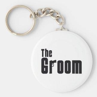 The Groom (Mafia) Basic Round Button Key Ring