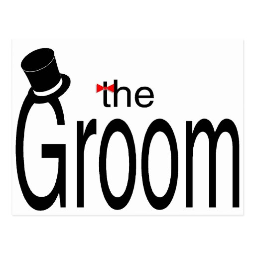 The Groom Postcard