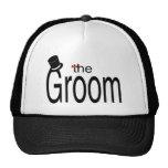The Groom Trucker Hats