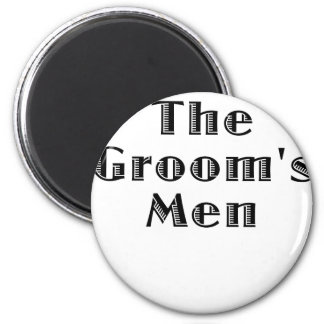 The Groomsmen 6 Cm Round Magnet