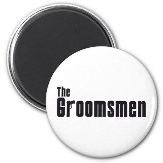 The Groomsmen (Mafia) 6 Cm Round Magnet