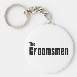 The Groomsmen (Mafia) Basic Round Button Key Ring