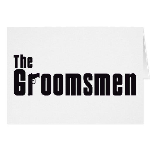 The Groomsmen (Mafia) Card