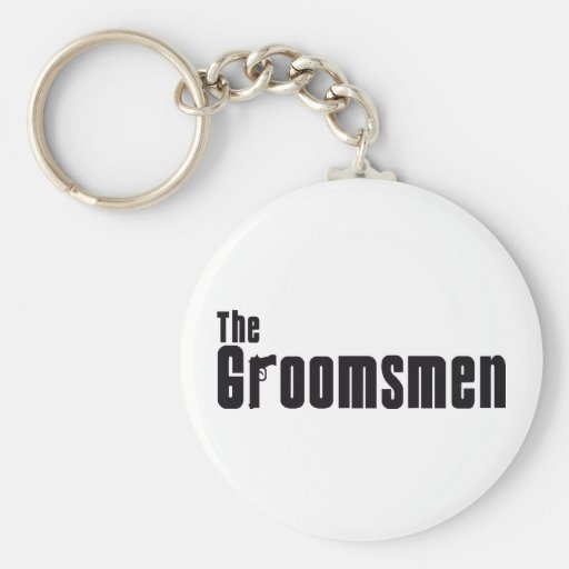 The Groomsmen (Mafia) Key Chain