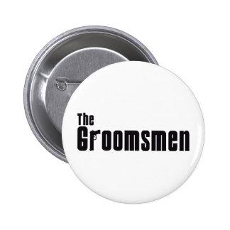 The Groomsmen Mafia Pins
