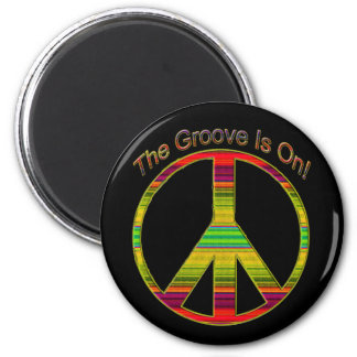 The Groove Is On Fridge Magnets