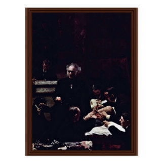 The Gross Clinic By Thomas Eakins (Best Quality) Postcard