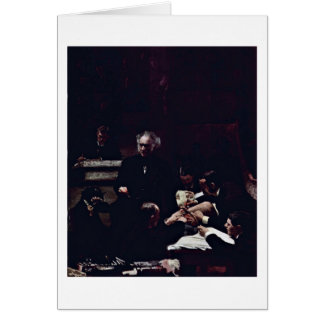 The Gross Clinic By Thomas Eakins Greeting Card