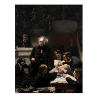 The Gross Clinic by Thomas Eakins Postcard